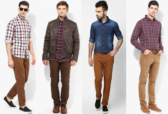 brown shirt brown pants - Online Discount -