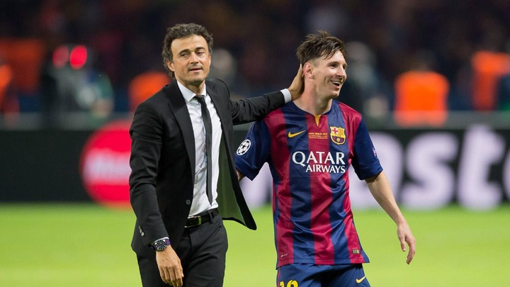 Lionel Messi can play wherever he wants for Barcelona – Luis Enrique -  Eurosport