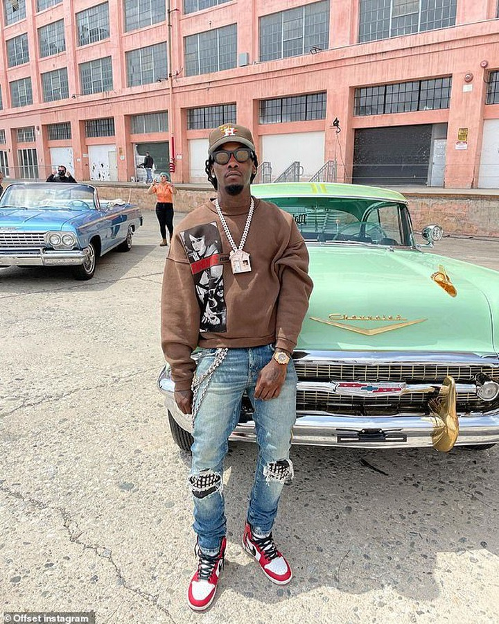 'I feel like the show was created with creatives like myself in mind,' Offset told Deadline . 'I'm happy to not only be a co-signer for the show but a producer. We are giving opportunities to the culture'