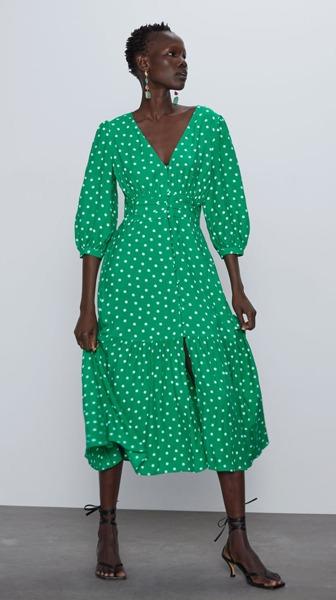 zara-green-dress