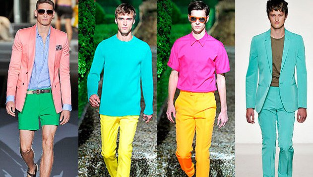 Time for men to go bold with neon colors - Youngisthan.in