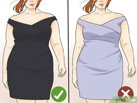 4 Ways to Hide Belly Fat in a Tight Dress - wikiHow