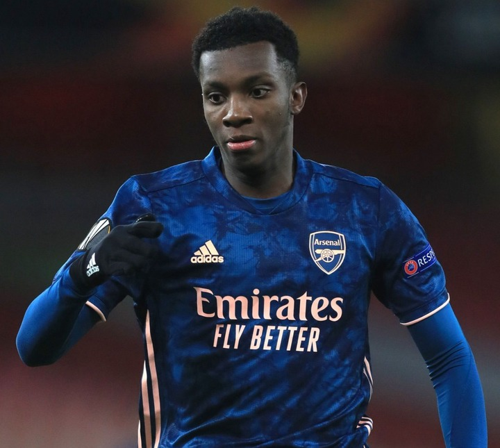 Twitter bans troll who racially abused Arsenal striker Eddie Nketiah and  told him to 'leave' club