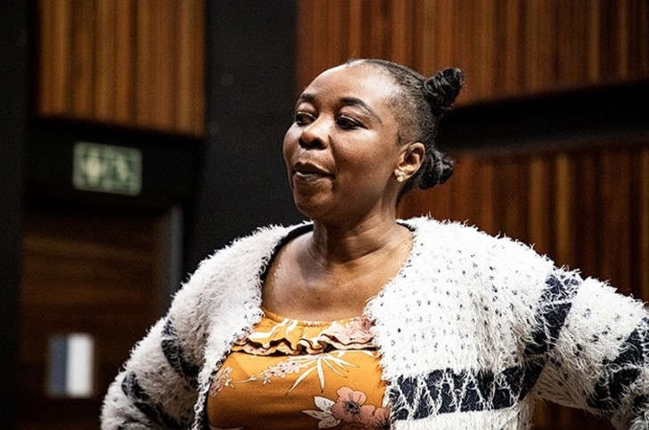 Nomia Rosemary Ndlovu in the Palm Ridge Magistrates Court. Video footage emerged this week purportedly showing her arranging a hit on her sister with the aim of claiming an insurance pay-out.