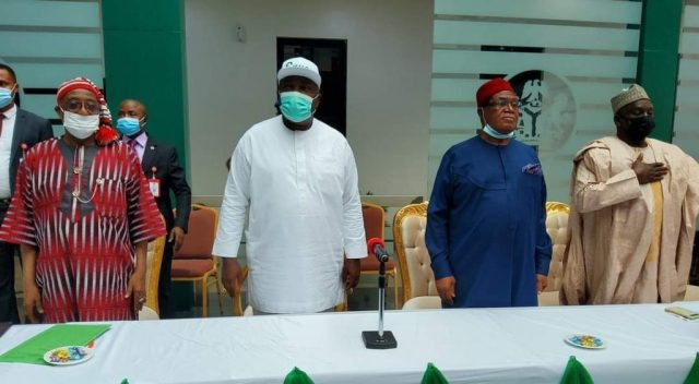 Ugwuanyi Shows Commitment To PDP, Delibrates With BOT Members On Way  Forward « CmaTrends