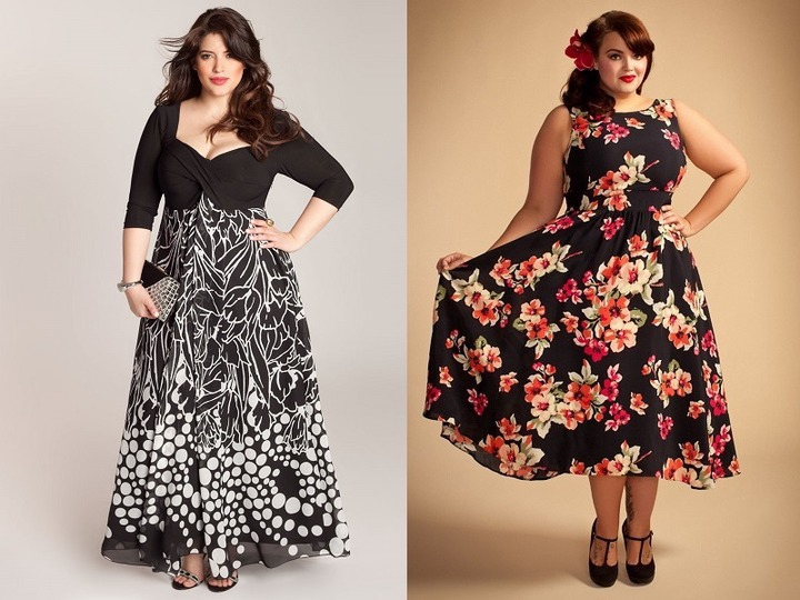 Latest Dresses for Fat Women - 25 Styles To Get Inspired