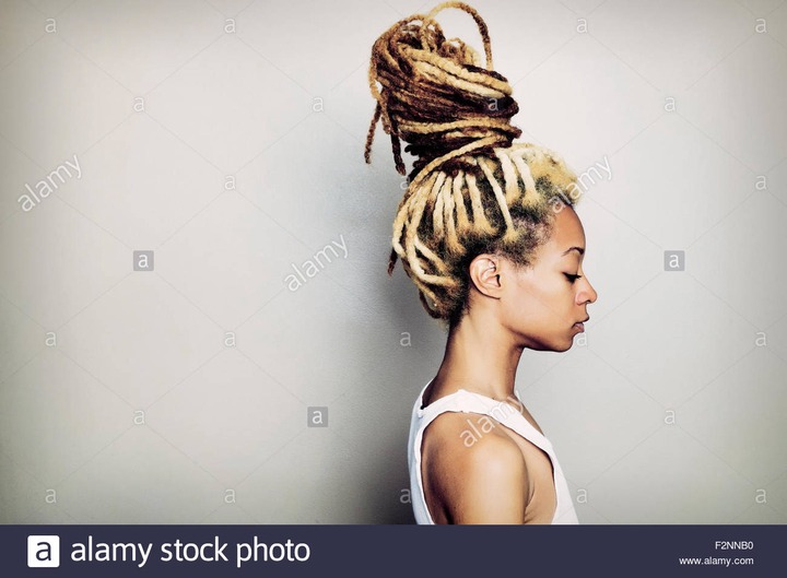 Long Blonde Dreadlocks High Resolution Stock Photography and Images - Alamy