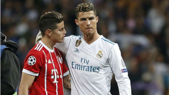 Serie A: Cristiano Ronaldo wants James Rodriguez at Juventus | MARCA in  English