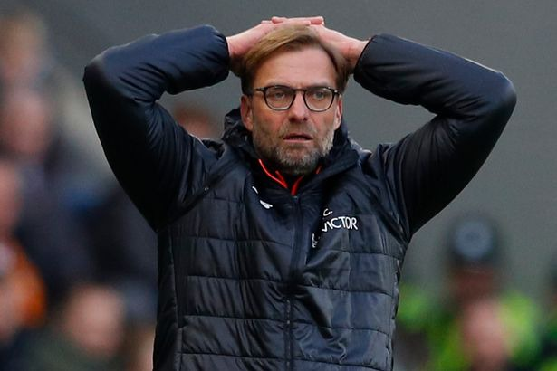 Jurgen Klopp laid into his Liverpool flops at half-time during their 2-0  slump at Hull - Mirror Online