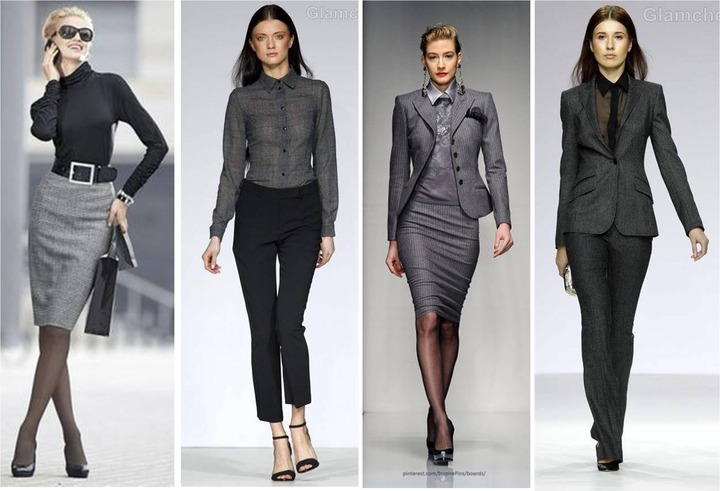 Work Clothes For Corporate Women To Finish Off A Meeting In Style