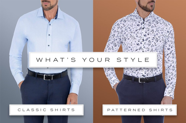 Austin Reed (US): Luxury Plain & Patterned Shirts   Floral, Check, Stripe &  More   Milled
