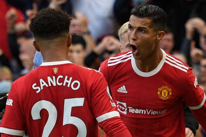 Ronaldo scores twice on second Man Utd debut - 12 years after his last goal  for Red Devils   Goal.com