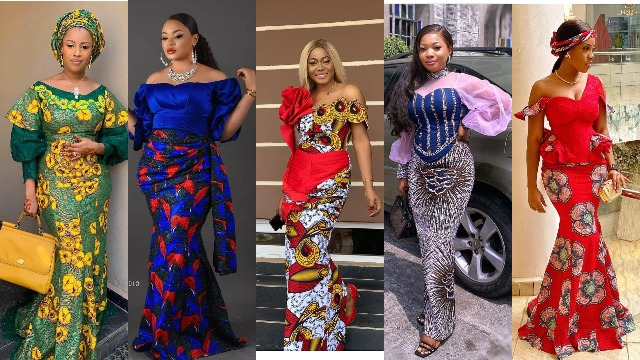 Ankara Long Gowns Ideas in 2021   African Fashion Dresses For Classic Ladies
