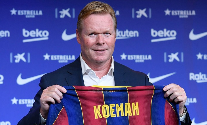 The four priority signings for Ronald Koeman in 'his' Barcelona