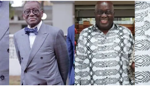Meet the biological brother of President Akufo Addo. 48