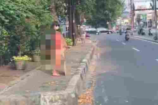 Pakai Bikini di Trotoar, Polisi Tangkap Artis Dinar Candy