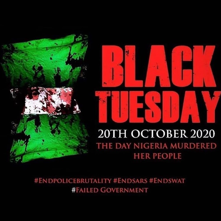 Black Tuesday, 20th October,2020 A day Nigerians will never forget - Opera  News
