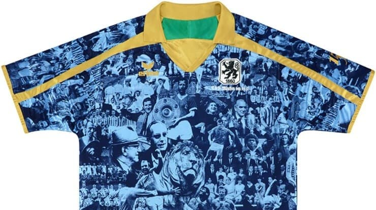 For the 150 years of its founding, the German institution launched this design.  Source: @ tsv1860