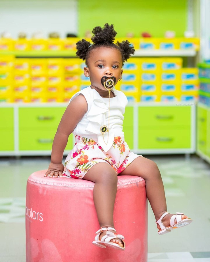 Baby maxin shares adorable moments with her father in new photos. 3