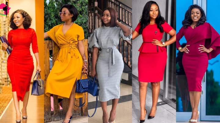 BEAUTIFUL CORPORATE GOWN STYLES- (classy style collections) - Mickyglam