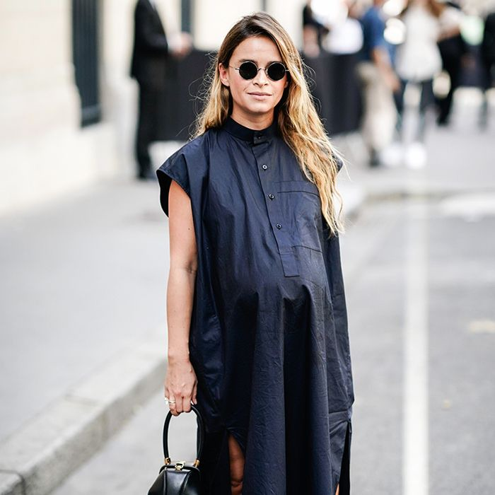 11 Cute Maternity Outfits That Are Street Style–Approved   Who What Wear