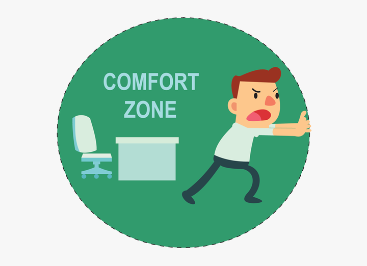 Go Out From Comfort Zone, HD Png Download , Transparent Png Image - PNGitem