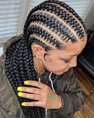 braids Ghana Braids Styles: Most Elegant Braided Hairstyles for ladies – 20 Pictures