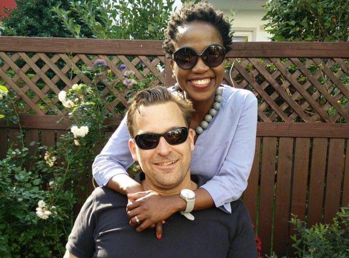 Nokwanda Maguga-Patocka and Michael Patocka.