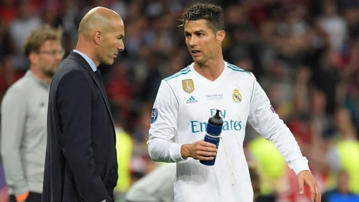 Cristiano Ronaldo Reportedly 'Disgusted' at News of Zinedine Zidane's  Shocking Real Madrid Departure - Sports Illustrated