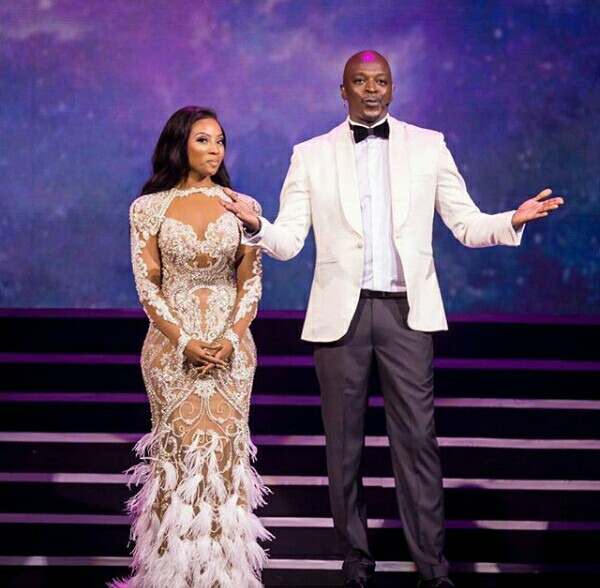 Pearl Modiadie and Thomas Msengana In Their Lovely Outfits At The SAFTAs –  Clipkulture