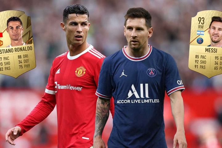 Cristiano Ronaldo vs Lionel Messi on FIFA 22: How do ratings of rivals  compare and who is better?   Goal.com