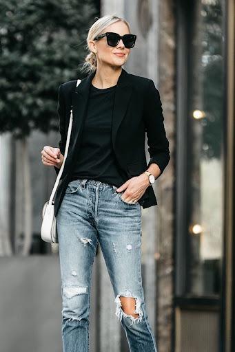 How To Make Black Blazer Look Awesome On You: Easy Guide 2021 -  LadyFashioniser.com