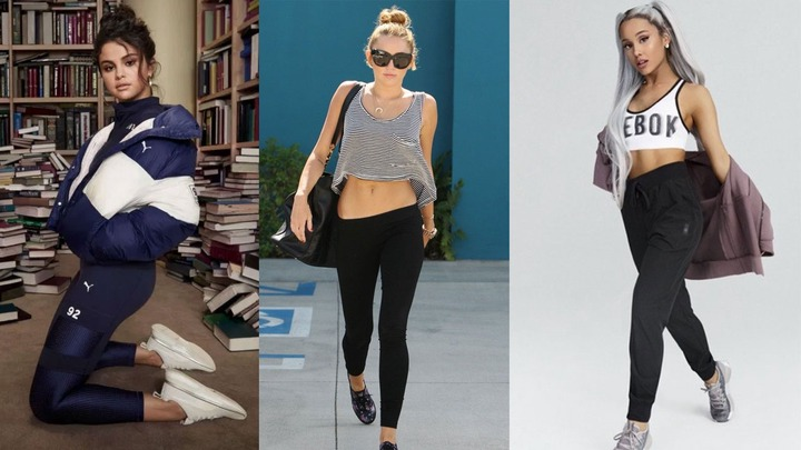 Selena Gomez, Miley Cyrus And Ariana Grande's Sporty Fashion Looks Are Too  Hot To Handle | IWMBuzz