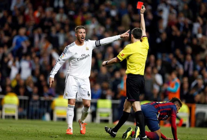 Sergio Ramos and his 26 <a class=