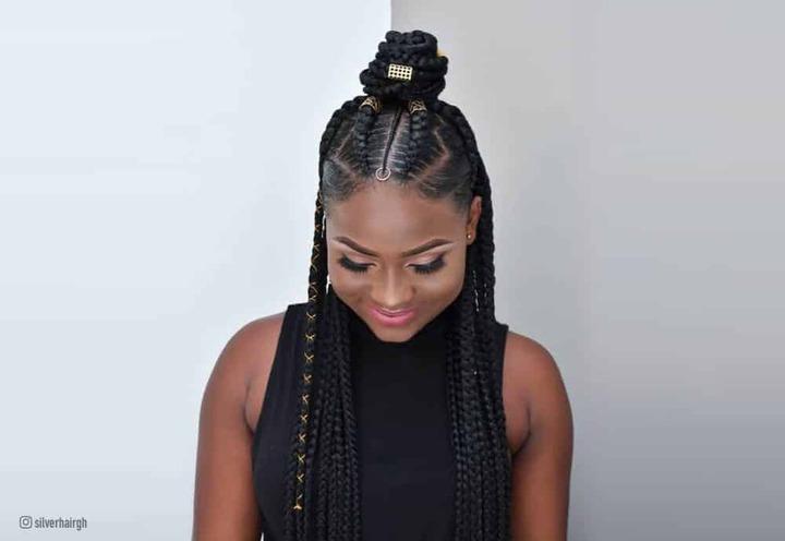 19 Hottest Ghana Braids - Ideas for 2021