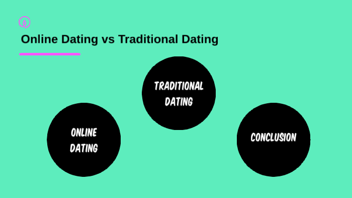 Online Dating vs Traditional Dating by Megan Solomon