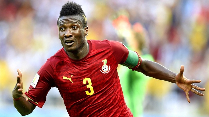 The journey of Asamoah Gyan, Ghana's football legend who inked his name in  world history   Pulse Ghana