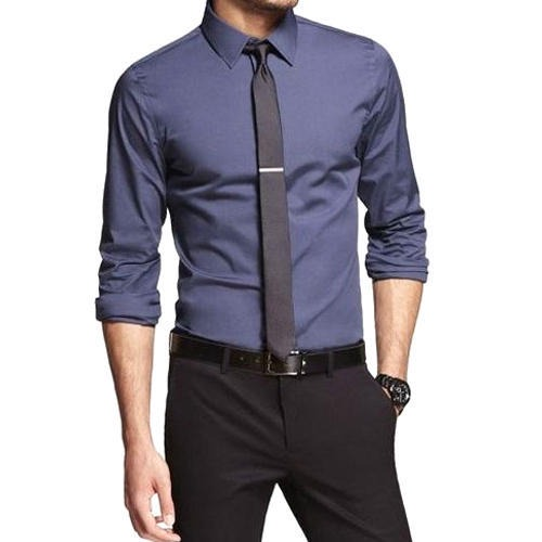 Cotton Men Slim Fit Formal Shirt, Rs 400 /piece P & S CREATION | ID:  14673531048