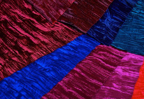 """Plain 44"""" Crushed Velvet, For Suits & Sarees, Rs 200 /meter Klass Velvets  Private Limited 
