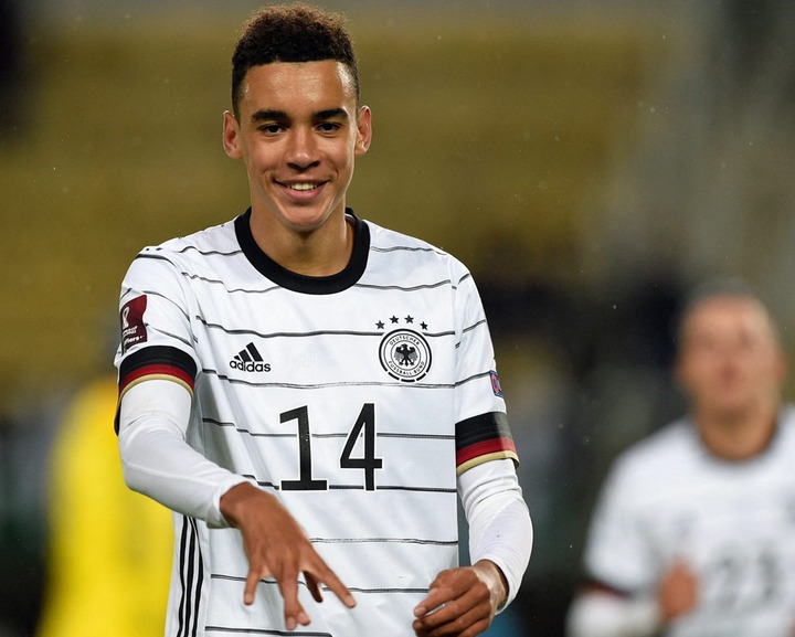 """Bayern Munich and Germany teenager Jamal Musiala: """"It's crazy how quickly  it's all happened"""" 