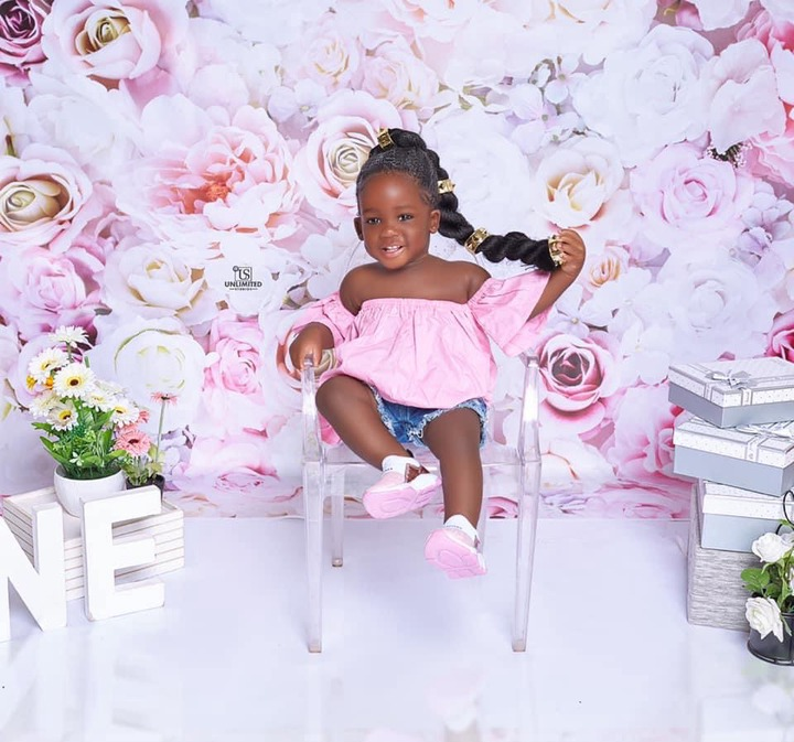 e6e8747ddaa64762a6f32707ada66754?quality=uhq&format=jpeg&resize=720 - Tracey Boakye's Daughter Stun Us With Beautiful Birthday Photos As She Turns A Year Old Today