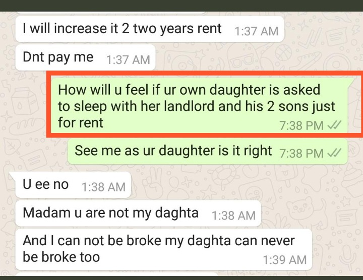 e79770e24490ca17a18802affe5ee2b0?quality=uhq&format=jpeg&resize=720 - Chat Of Landlord Asking His Tenant To Sleep With Him & Two Sons Because She Couldn't Pay Her Rent Breaks Heart Of Many
