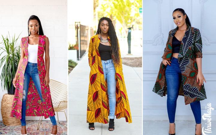 20 Trending Ankara Kimono Jackets And Dresses For 2021   ThriveNaija