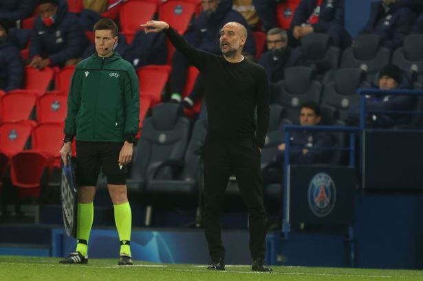 Pep Guardiola's strong Champions League warning to Man City stars ahead of  PSG second leg - Manchester Evening News