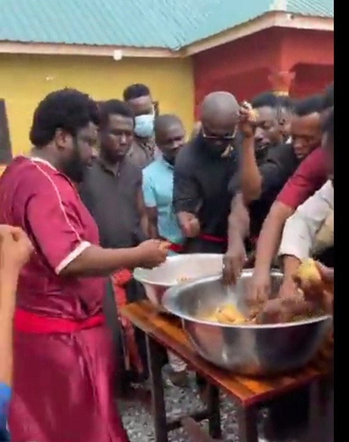 Prophet Ajagurajah causes stir again with Father's Day kenkey party. 55