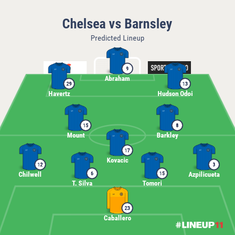 Chelsea Vs Barnsley Confirmed Team News Injury Updates And Predicted Lineups Opera News