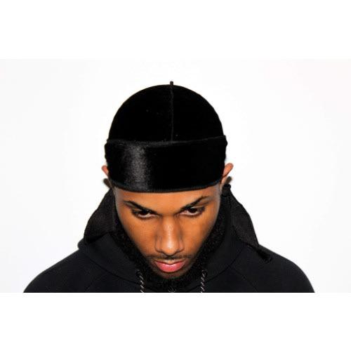 S & Co Men's Velvet Durag - Black | Konga Online Shopping