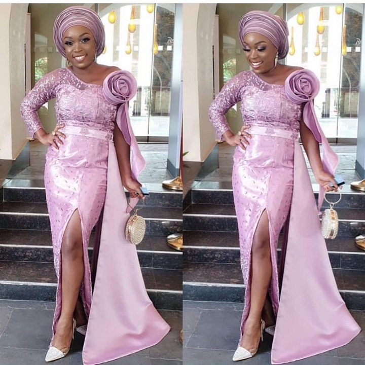 Best Nigerian Lace Styles And Designs Pictures 2021 - MyNativeFashion