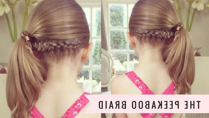 French Braid With A Twist – Hair Tutorial – Hairsaffairs Throughout Most Popular Peek A Boo Braid Hairstyles (View 4 of 20)