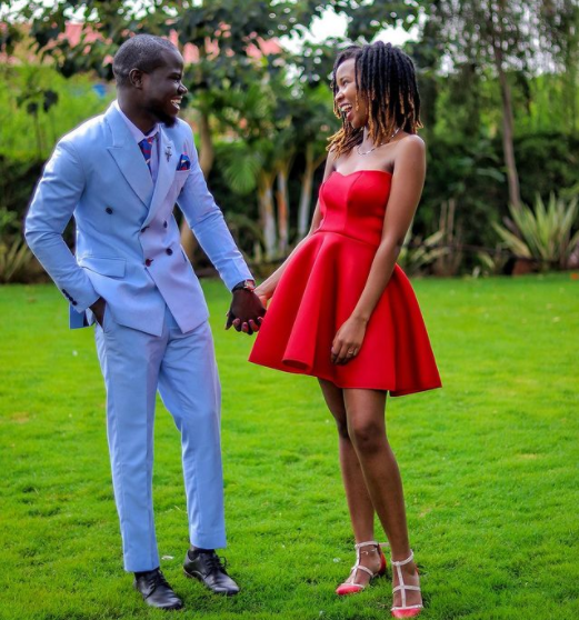Congrats! Mulamwah And Girlfriend Sonnie Didn't Come Back Together to Play  - LitKenya